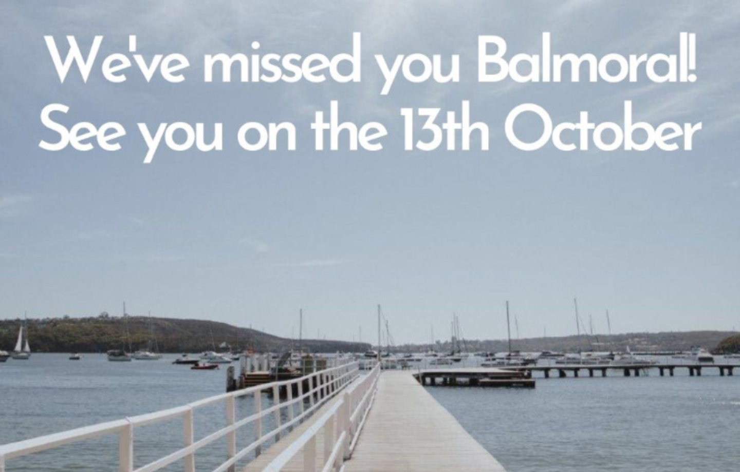 RE-OPENING ON WEDNESDAY 13th OCTOBER 2021